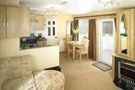 Static caravan for sale at 5 star Amble Links Holiday Park, pride of Northumberland