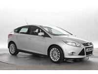 2013 (13 Reg) Ford Focus 1.6 TDCi Titanium X Moondust Silver 5 STANDARD DIESEL M