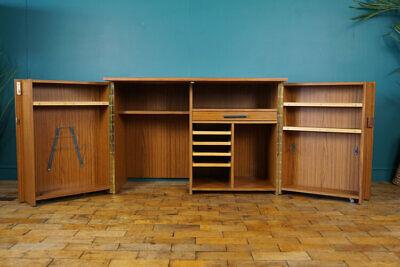 MID CENTURY METAMORPHIC DESK / HOME OFFICE / CABINET