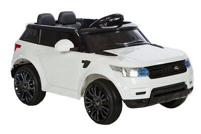Azeno Rapid Racer RC Elektroauto mit 12V Batterie 2x 35W Motoren weiss