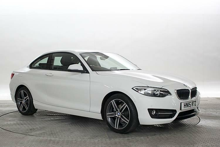 2015 15 reg bmw 218i 1 5 sport alpine white coupe petrol. Black Bedroom Furniture Sets. Home Design Ideas