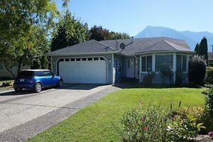 UPDATED SPACIOUS RANCHER WITH WOW MOUNT CHEAM VIEWS