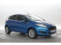2013 (63 Reg) Ford Fiesta 1.6 TDCi Titanium X Candy Blue 5 STANDARD DIESEL MANUA