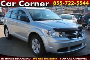 2013 Dodge Journey SE - LOW KM WITH HANDS FREE AND TOUCHSCREEN!