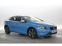 2013 (13 Reg) Volvo V40 2.0 D4 177 R DESIGN Lux Rebel Blue 5 STANDARD DIESEL MAN