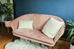 Structube Loveseat Pink NELLY