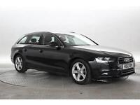 2012 (12 Reg) Audi A4 2.0 TDie 136 SE Technik Avant # Black ESTATE DIESEL MANUAL