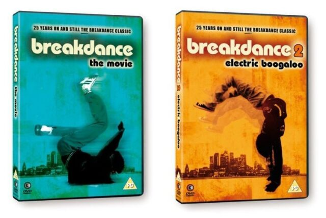 Breakdance: The Movie & Breakdance 2 - Electric Boogaloo - DVDs NEW & SEALED
