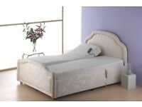 Dual adjustable double bed