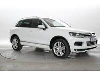 2013 (13 Reg) Volkswagen Touareg 3.0 TDi 245 Altitude DSG Pure White DIESEL AUTO