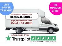 PROFESSIONAL, UNBEATABLE PRICES ON MAN & VAN, REMOVALS, INSTANT ONLINE QUOTE, UK & EUROPE 24/7 (CWB)