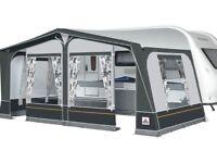 2013 Dorema Daytona Caravan Awning with curtains and carpet