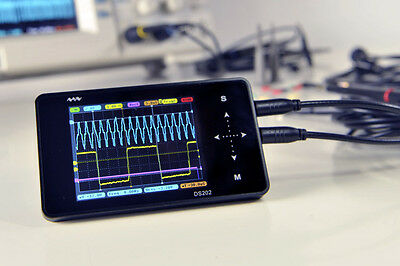 Arm Stm32 Dso202 Touch Nano Handheld Digital Storage Oscilloscope