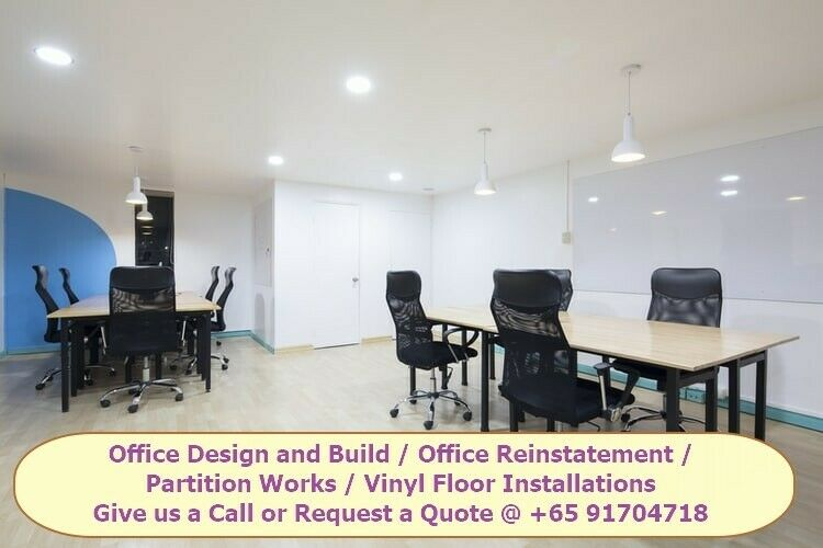Office Reinstatement Contractor | Private Home Renovation Contractor Singapore Call now +651704718