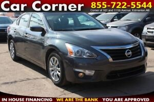 2013 Nissan Altima S LOW KM/FUEL EFFICIENT/SLEEK & PRICED RIGHT!