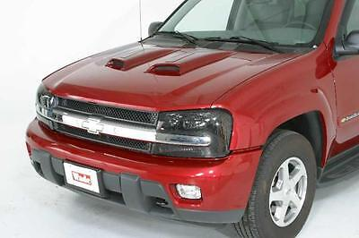 Funkmaster Flex Ford Expedition - 2008 Ford Expedition Funkmaster Flex Scoops Hoodscoops (2-pc Racing Accent)