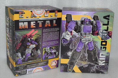 IN STOCK New Transformers TOY KFC Eavi Metal Phase Nine A Kingorilla Figure