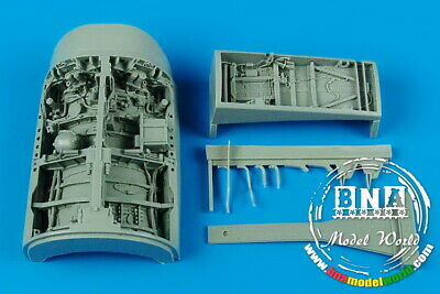 Aires 1/32 F-16C Fighting Falcon Wheel Bay for Academy kit