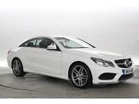 2014 (14 Reg) Mercedes E220 2.2 CDi AMG Sport Polar White COUPE DIESEL AUTOMATIC