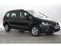 2011 (61 Reg) Seat Alhambra 2.0 TDi 140 Ecomotive S Magic Black MPV DIESEL MANUA