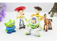 6 pcs toy story figures cake toppers toys