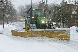 Rental snow removal equipment