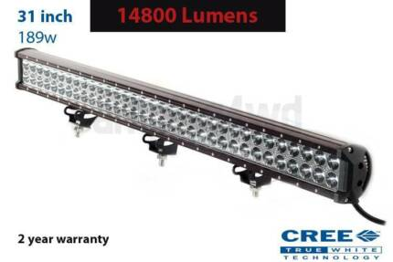 "31"" 198w CREE Led Lightbar (2 year warranty + wiring Craigie Joondalup Area Preview"
