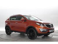 2013 (13 Reg) KIA Sportage 1.7 CRDi 3 4X2 Techno Orange 5 STANDARD DIESEL MANUAL