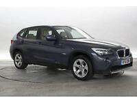 2012 (61 Reg) BMW X1 2.0 sDrive20d SE Deep Sea Blue 5 STANDARD DIESEL MANUAL
