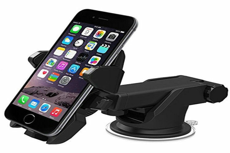 Extension 360° Car Holder Windshield Mount for Mobile Cell