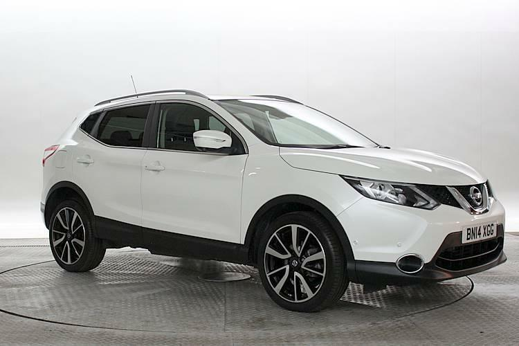 2014 14 reg nissan qashqai 1 6 dci tekna storm white diesel manual in west london london. Black Bedroom Furniture Sets. Home Design Ideas