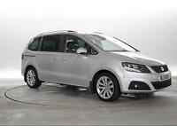 2013 (13 Reg) Seat Alhambra 2.0 TDi 177 SE Lux Silver MPV DIESEL AUTOMATIC