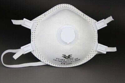 FFP3 Atemschutz-Maske Staubmaske Schutzstufe P3 mit Ventil