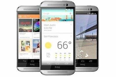New Verizon HTC One M8 - 32GB (Unlocked) Sealed in Box Smartphone/Silver/32GB
