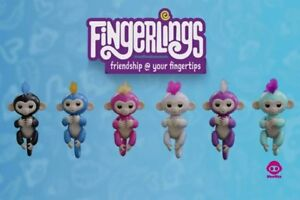 Authentic Fingerlings All Colors, Unicorns, Playsets **HOT**