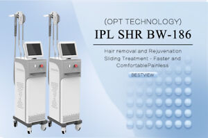 Professional IPL SHR E-light Super Fast Hair Removal Equipment
