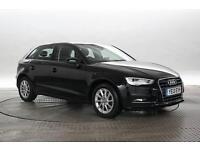 2013 (13 Reg) Audi A3 2.0 TDi 150 SE Sportback # Black 5 STANDARD DIESEL MANUAL