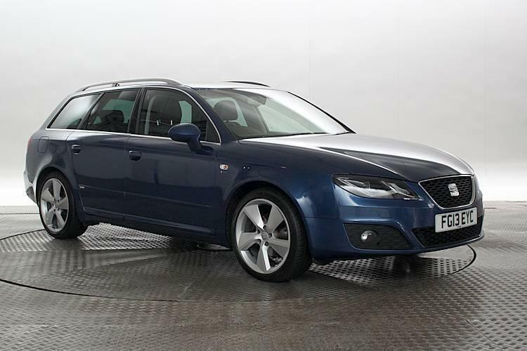2013 13 reg seat exeo 2 0 tdi 143 sport tech apollo blue estate diesel manua in west. Black Bedroom Furniture Sets. Home Design Ideas