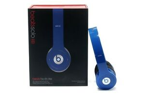 Blue Beats by Dre - Studio with Original Box and Case - MINT