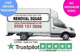 PROFESSIONAL, UNBEATABLE PRICES ON MAN & VAN, REMOVALS, INSTANT ONLINE QUOTE, UK & EUROPE 24/7 (BC)