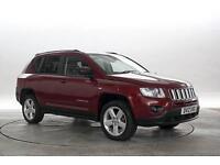 2012 (12 Reg) Jeep Compass 2.2 CRD Limited Met Red DIESEL MANUAL