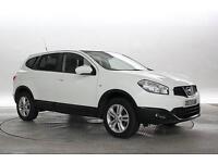 2013 (13 Reg) Nissan Qashqai+2 1.5 dCi Acenta 4x2 White 5 STANDARD DIESEL MANUAL