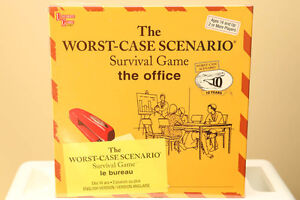 LOW PRICE! New Worst Case Scenario Board Game: Office Edition