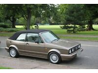 Vw Golf Cabriolet Clipper Mk1 Classic - 1.8 Automatic Rare GTi Steering - Bronze Swap