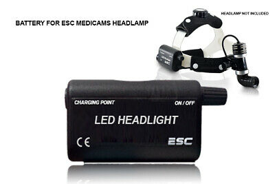 Surgical Led Headlamp Battery For Ent Dental Headlight 10 Watt Wireless