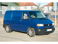 FOR SALE: VOLKSWAGEN Transporter T4 2002, 2461 cc, TDI, Panel van, kitted out as a basic camper.