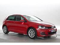 2013 (13 Reg) Volkswagen Golf 2.0 TDi 150 GT MK7 # Tornado Red 5 STANDARD DIESEL