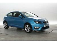 2013 (63 Reg) Seat Ibiza 1.2 TSi FR Alor Blue 3 STANDARD PETROL MANUAL