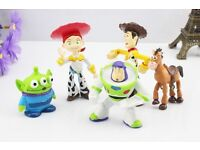 6pcs toy story figures cake toppers decorations kids toys