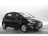 2014 (64 Reg) Hyundai IX20 1.6 Active # Met Black 5 STANDARD PETROL AUTOMATIC